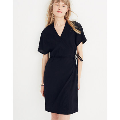 Gauze Wrap Dress by Madewell