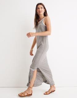 Rivet & Thread Tank Maxi Dress in Stripe