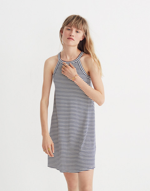 District Dress in Stripe in nightfall image 2
