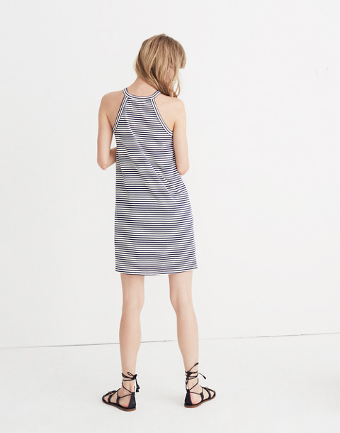 District Dress in Stripe in nightfall image 3
