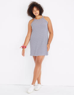 District Dress in Stripe