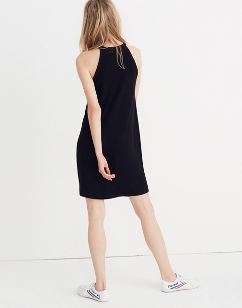 District Dress in true black image 2