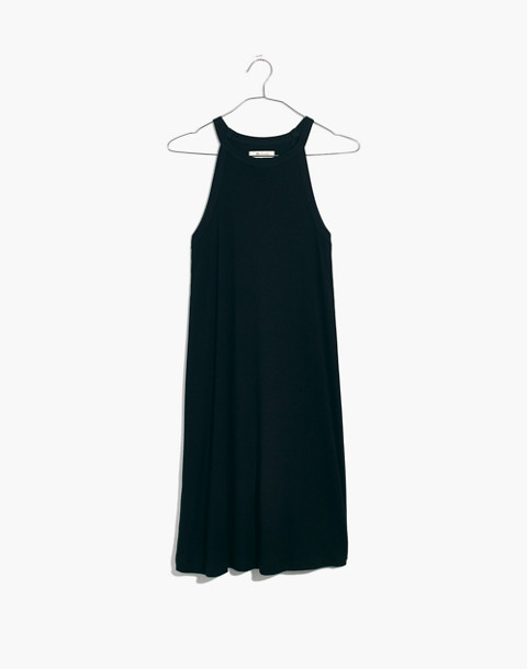 District Dress in true black image 4
