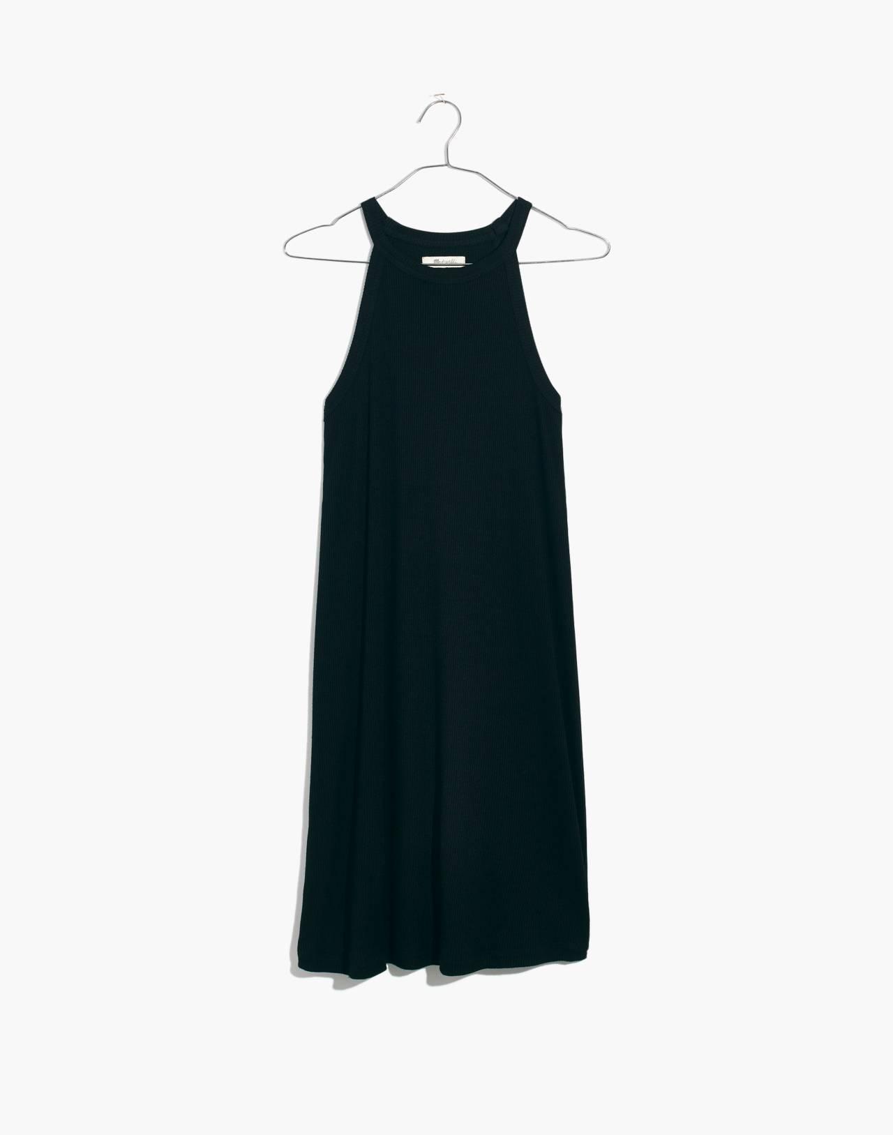 District Dress in true black image 4