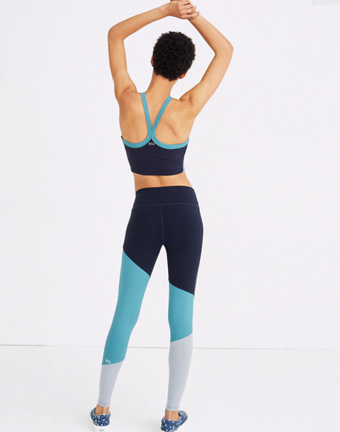 Splits59™ Stadium Colorblock Leggings in blue surf image 3