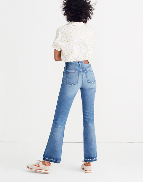 Rigid Flare Jeans: Drop-Hem Edition in adamsville wash image 3