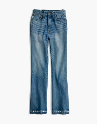 Tall Rigid Flare Jeans: Drop-Hem Edition in adamsville wash image 4