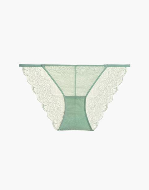 Lace String Bikini in sea haze image 4