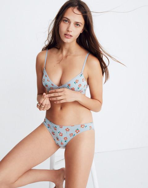 Cotton-Modal® Bikini in Pressed Flowers