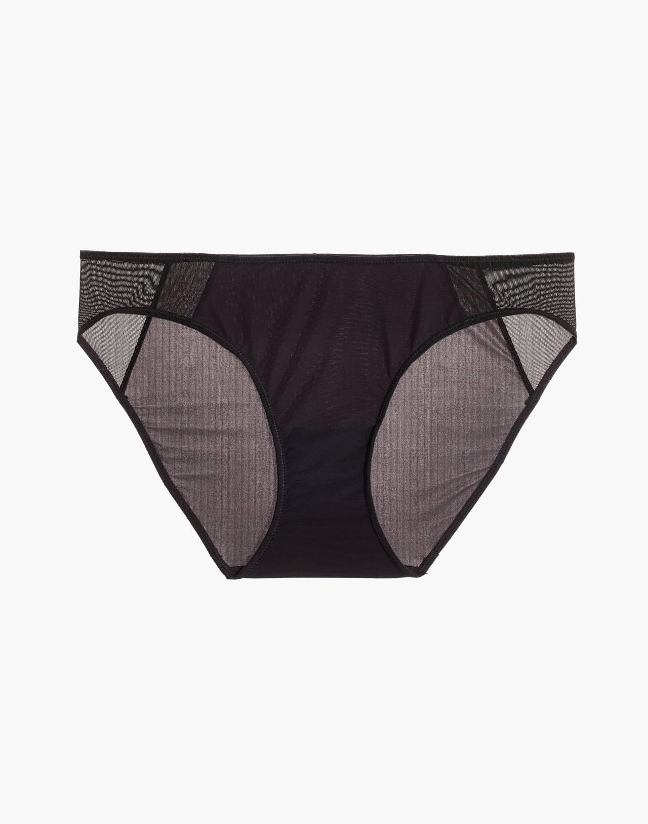 MicroModal® String Bikini in true black image 4