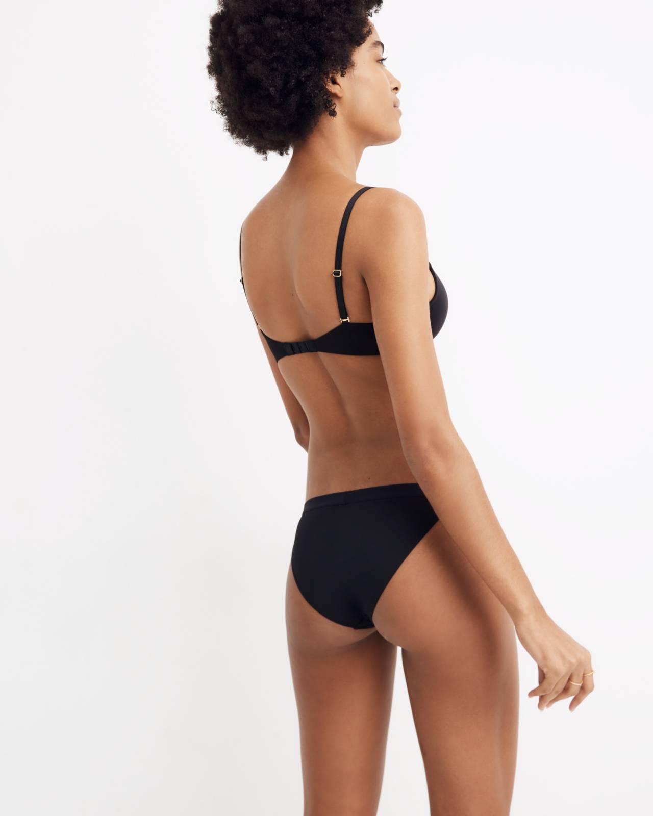 MicroModal® String Bikini in true black image 1