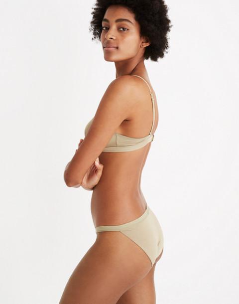 MicroModal® String Bikini in ash green image 2