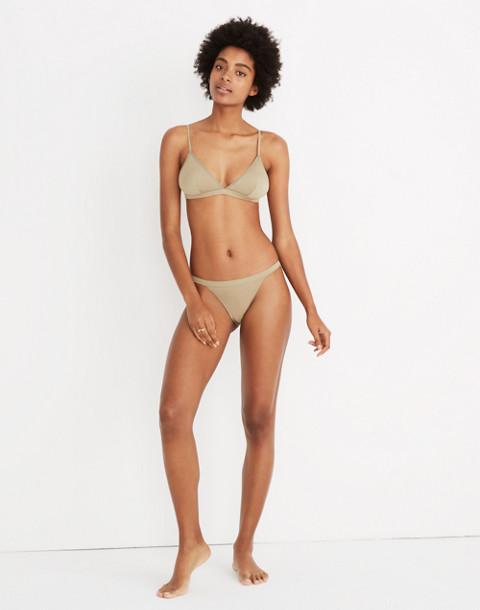 MicroModal® String Bikini in ash green image 1