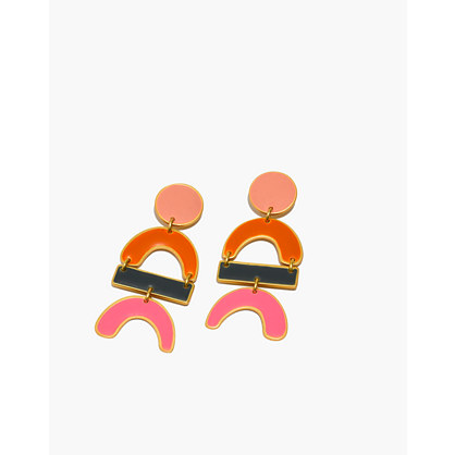 Newform Statement Earrings by Madewell