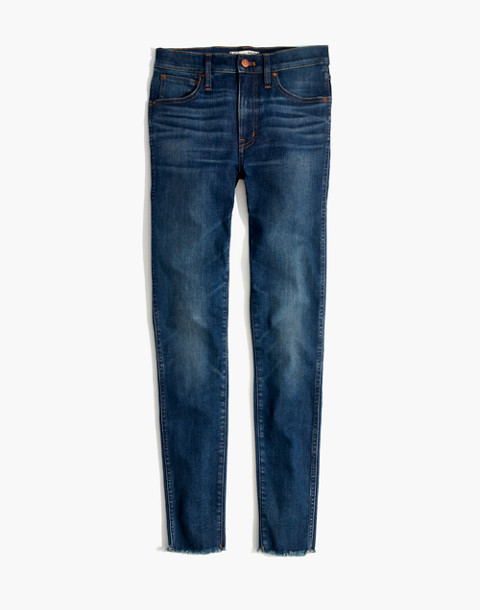 "Tall 9"" High-Rise Skinny Jeans in Paloma Wash: Raw-Hem Edition in paloma wash image 4"