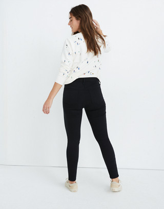 "Petite 9"" High-Rise Skinny Jeans in Lunar Wash: Tencel™ Edition in lunar wash image 3"