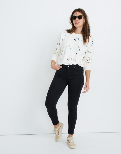 "Petite 9"" High Rise Skinny Jeans In Lunar Wash: Tencel™ Edition by Madewell"