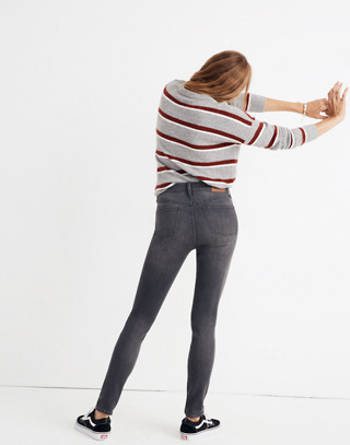 """Tall 9"""" High-Rise Skinny Jeans in Coltrane Wash in baxley image 3"""