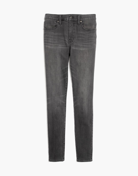 "Petite 9"" High-Rise Skinny Jeans in Coltrane Wash in baxley image 4"