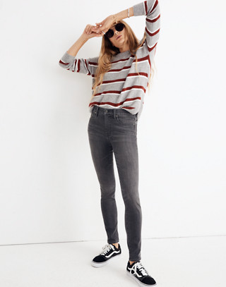 """Tall 9"""" High-Rise Skinny Jeans in Coltrane Wash in baxley image 1"""