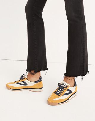 Petite Cali Demi-Boot Jeans in Berkeley Black: Chewed-Hem Edition in berkeley wash image 3