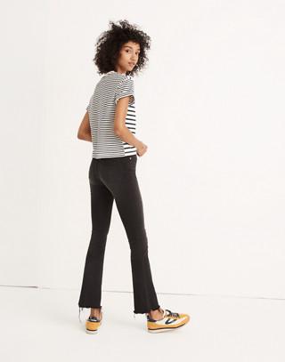 Tall Cali Demi-Boot Jeans in Berkeley Black: Chewed-Hem Edition in berkeley wash image 2