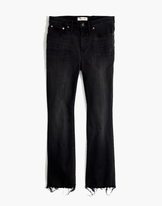 Tall Cali Demi-Boot Jeans in Berkeley Black: Chewed-Hem Edition in berkeley wash image 4