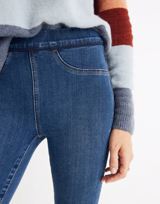 Pull-On Jeans in Freeburg Wash in freeburg wash image 3
