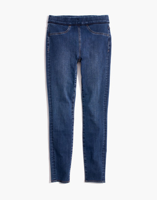 Pull-On Jeans in Freeburg Wash in freeburg wash image 4
