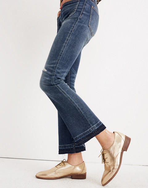 Petite Cali Demi-Boot Jeans: Patch Pocket Edition in dermott wash image 2