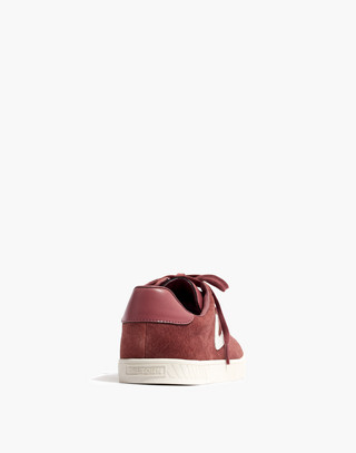 Tretorn® Camden 2 Sneakers in Rose Suede in dusty rose image 4
