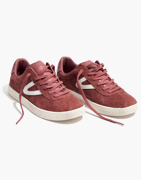 Tretorn® Camden 2 Sneakers in Rose Suede in dusty rose image 1