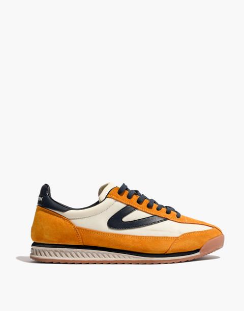 Tretorn® Rawlins2 Sneakers in Lemon Suede in lemon ice night image 3