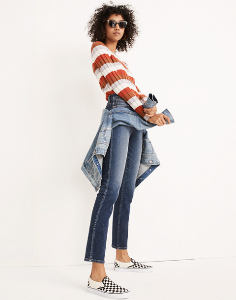 Tall Slim Straight Jeans in Hammond Wash in hammond wash image 2