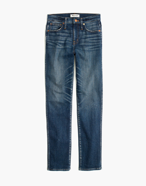 Tall Slim Straight Jeans in Hammond Wash in hammond wash image 4