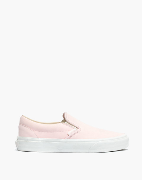 Vans® Unisex Vansbuck Classic Slip-On Sneakers in Pink in heavenly pink image 3