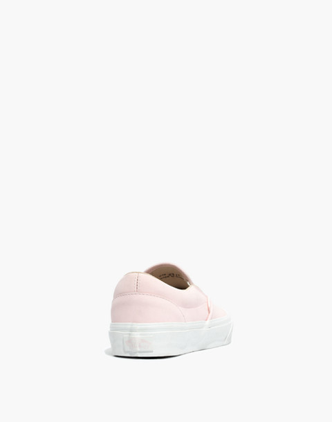 Vans® Unisex Vansbuck Classic Slip-On Sneakers in Pink in heavenly pink image 4