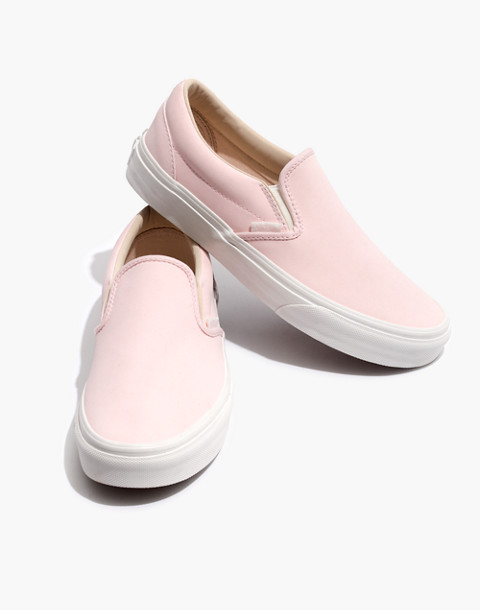 Vans® Unisex Vansbuck Classic Slip-On Sneakers in Pink in heavenly pink image 1