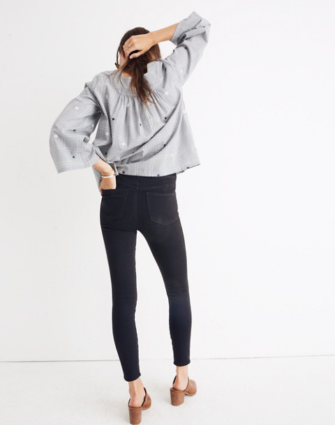 Pull-On Jeans in Black Frost in black frost image 3