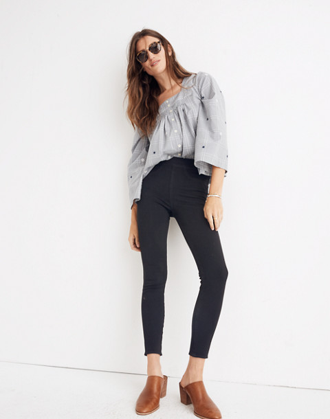 Pull-On Jeans in Black Frost in black frost image 1