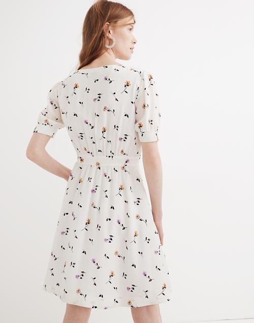 6235a6c5eb9 Daylily Pintuck Dress in Sweet Blossoms