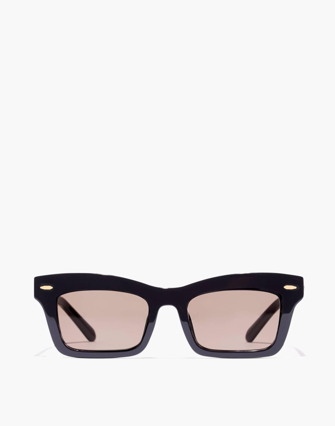 Madewell x Karen Walker® Banks Sunglasses in black image 1