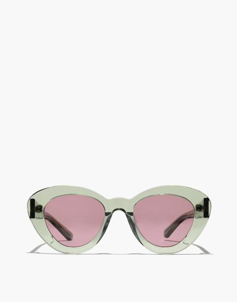 Madewell x Karen Walker® Argentina Sunglasses in crystal khaki image 1
