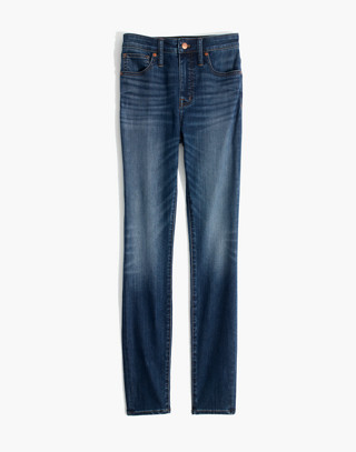 Petite Curvy High-Rise Skinny Jeans in Danny Wash: Tencel® Edition in danny image 4