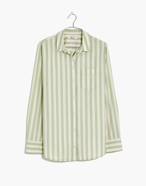 Tunic Shirt In Hampden Stripe by Madewell
