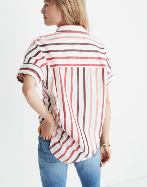 Courier Shirt in Lorelei Stripe in cabernet image 3