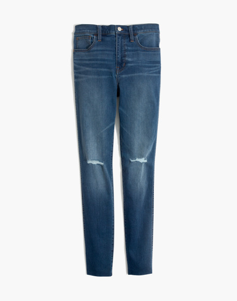Petite Roadtripper Jeans: Knee-Rip Edition in lewis wash image 4