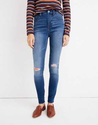 Tall Roadtripper Jeans: Knee-Rip Edition in lewis wash image 1