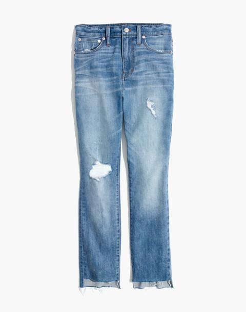 The Tall High-Rise Slim Boyjean in Lita Wash: Step-Hem Edition in lita wash image 4