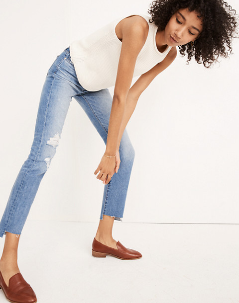 The Tall High-Rise Slim Boyjean in Lita Wash: Step-Hem Edition